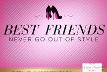 Fancy Pants Friendship Day / The best friendships are always in fashion. Happy #FriendshipDay from @FancyPantsWines!