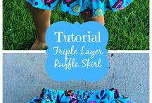 Triple layer skirt