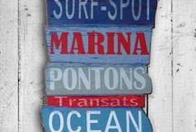 Panneaux plage
