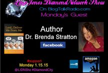 #LJDNShow 1-12-15 Lina Jones DiamondNetwork Show / This board show pictures of my guest, the musicians music I played during the show and the link to the show. Only live shows are displayed. Lina's guest and musicians receive Free exposure via social network postings during the week of their interview in 5 major social networks we are growing join us. LJDNShow every Mon. live at 6:00pm EST call or Skype in to talk to a guest at #347-237-4697. Check out the shows website at http://ljdnshow.com thank you for your #support.