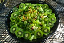 Gorgeous Green Food / I love to eat gorgeous green salads and all sorts of green food!