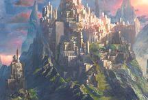 ~Fantasy towns & landscapes~