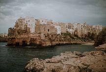 Puglia Italy / photos of Monopli and Polignano a Mare in Puglia, Italy