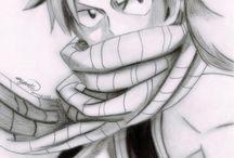 dibujos a lápiz de fairy tail