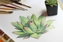 succulent / NATUREART week #32 #natureartegyevenat2017 www.artbyildy.com/natureart free year long inspiration course closed fb group: https://www.facebook.com/groups/Natureartegyevenat2017