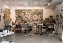 Atelier and Art Studio / Atelier and studio of a professional artist in the fine arts.