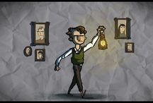 """The Last Door Fan Art / """"The Last Door"""" is a point-and-click episodic horror adventure game with original low-res visuals and a gorgeous orchestral music score. Inspired in classic horror writers like Poe and Lovecraft is has been defined as a lovecraftian work turned into a video game.   Successfully funded and powered by a devoted community, in this board we'll show you the greatest creations from our most active members,  including cosplays, drawings, minecraft stuff, 3D modeling, videos and much more. Enjoy!"""