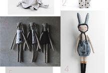 DIY stuffed dolls