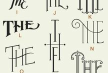 Hand Lettering Letters