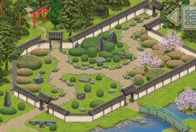 Inner Garden: Japanese garden / Pictures of Japanese gardens made in Inner Garden app for Android