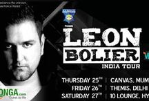 KyaZoonga.com: Buy tickets for Leon Bolier India Tour