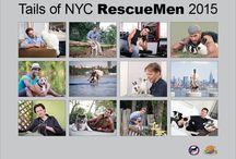 2015 Rescuemen / Pictures from our 2014 Rescuemen calendar!