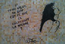 Street Lettrisme / Dans la suite d'Isidore Isou, Sabatier , Quentin