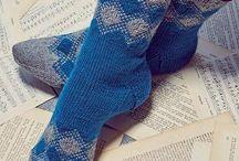 мужские носки вязание