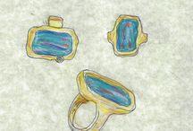 Gemstone Ring Renderings