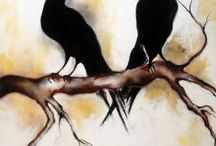 blackbirds / by susan barrington