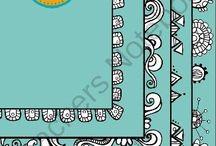 Zentangle, Dangles, Doodles & Lettering
