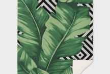 Throw Blankets/Throw Pillows design by Paola Morpheus