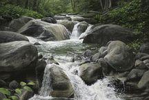 potok - rieka