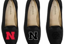 Nebraska Shoes / University of Nebraska logo shoes for men and women. / by JP Crickets University and Collection Loafers jpcrickets