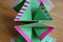 Different card folds