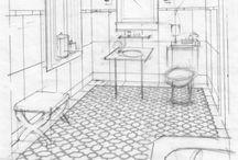 Sketche bathroom