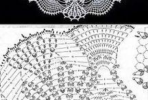 Crocheted Doilys