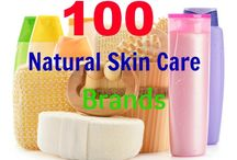 Natural Skin Care Brands / Brands that specialize in natural skin care.