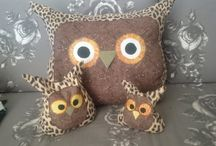 Owls, owls, owls - my own projects / Owl amok