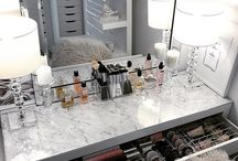 Beauty Room, Makeup Vanity, and Lighting