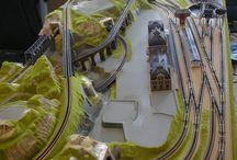 Modellbahn - Plány kolejiště