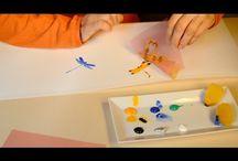 Videos para crear pantallas para lámparas / Tutoriales para crear y montar pantallas para lámparas. DIY. Manualidades. Hazlo tu mismo.