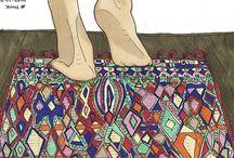 kilim illustration collection