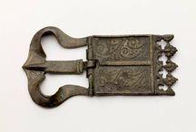 antique buckle
