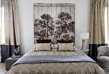 Cabeceras de cama con listones de madera.
