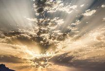 Ég, felhők