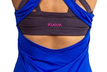 WORKOUT TOPS by KIAVA / Beautiful Athletic Tops for Women!