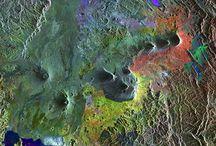 Uzaydan Dünya / Avrupa Uzay Ajansı uyduları uzaydan dünyayı fotoğrafladı. Fotoğraflar dünyanın doğal güzelliklerini gözler önüne seriyor.