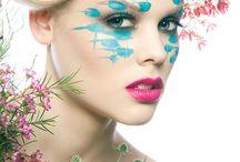 ARTS✿Artistic make up and hair art… & many more
