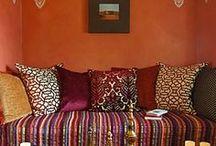 MEKANLAR YERLER / Enteresan ve güzel odalar mekanlar manzaralar