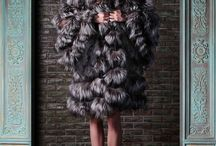 Fur, baby.  / coats, collars, vests and more!  / by Erin Whitlock Brown / Brains of the Outfit