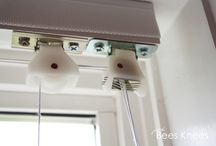 Roman Shades - styles and lift systems / Styles and lift systems