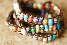 Jewelry / handcrafted items that caught my eye or new ideas that I may want to try sometime