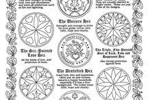 symbols/glyphs/mandala/signs etc