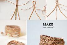 Armbång og smykker lager selv