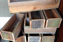 Truhlíky dřevěné