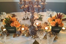 Table Decor Inspiration / by Wrenne West