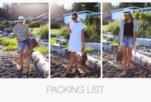 Let's get packing! / Tips for packing, packing essentials
