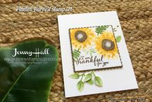 Painted Harvest Stampin Up Set