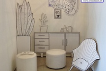 Illustrate - Visual Merchandising / Creative usage of illustrations in visual merchandising.
